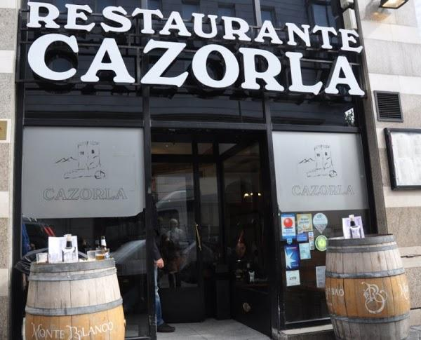 Restaurante cazorla en madrid for Restaurante lamucca calle prado madrid