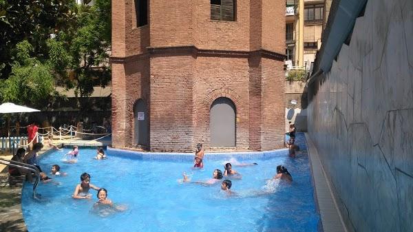 jardins de la torre de les aig es en barcelona
