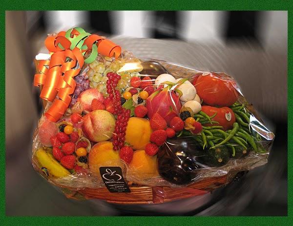 Imagen 65 Cesta de Frutas foto