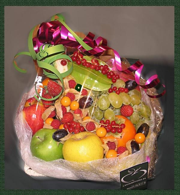 Imagen 67 Cesta de Frutas foto