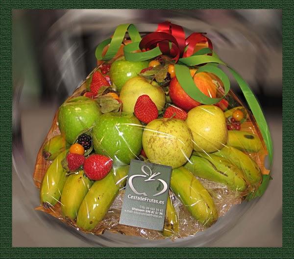 Imagen 68 Cesta de Frutas foto