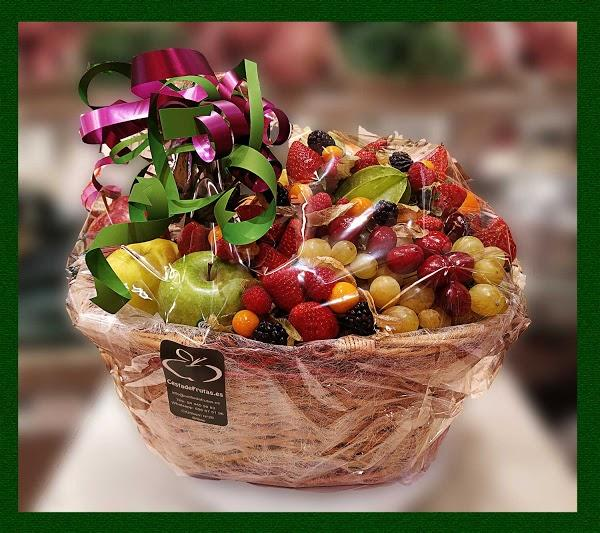 Imagen 95 Cesta de Frutas foto