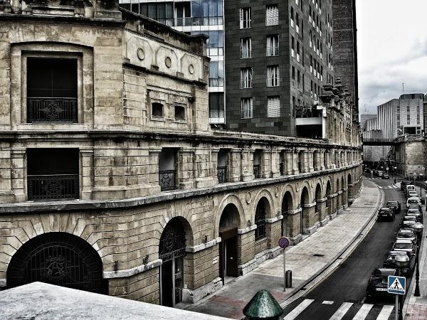 Imagen 969 Gimnasio Metropolitan Bilbao Isozaki foto