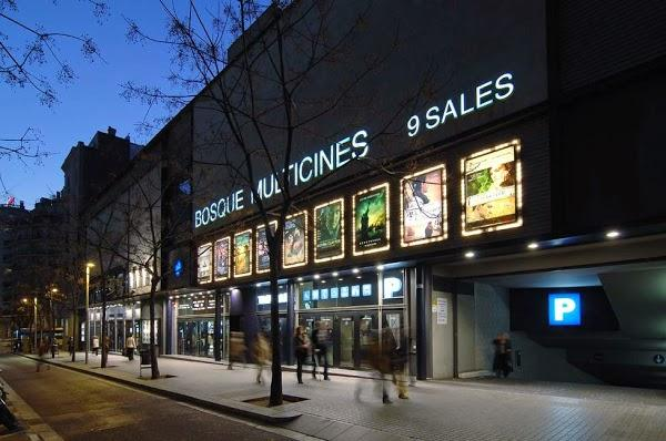 Imagen 413 Bosque Multicines 9 sales 3D foto