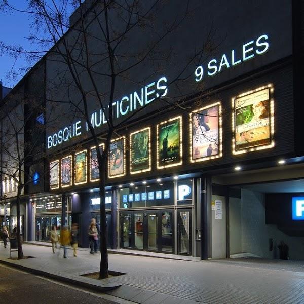 Imagen 76 Bosque Multicines 9 sales 3D foto